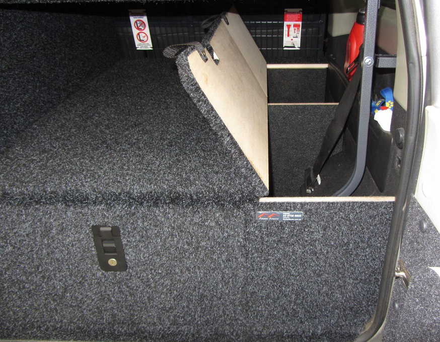 Storage Systems Cargo Barriers 4x4 Storage Drawers